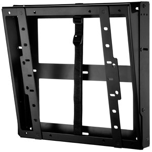Peerless DST660 Flat/Tilt Wall Mount with Media Device Storage, Black by Peerless