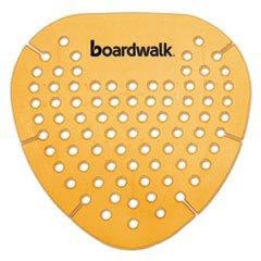 Boardwalk Gem Urinal Screen, Lasts 30 Days, Orange, Mango Fragrance, 12/Box