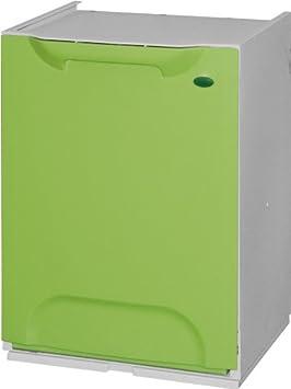 stapelbar Art Plast R34//1G M/ülleimer aus Kunststoff