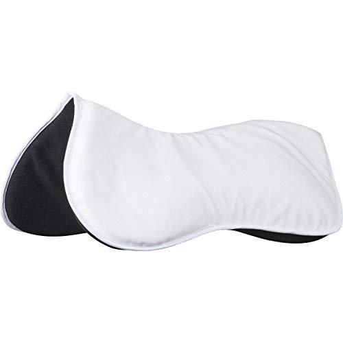 Weatherbeeta Memory Foam Comfort Half Pad (L) (White)