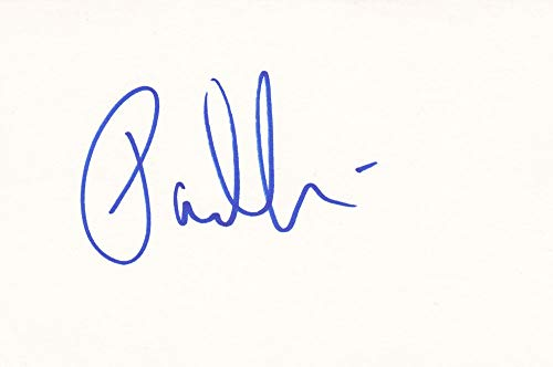 Paul Sorvino Autographed Index Card from Sign Here Autographs