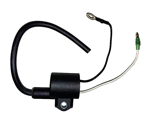 Ignition Coil Assy for Yamaha Outboard C 20 HP, 25 HP, 30 HP (2 stroke) Engines Replaces 61N-85570-10-00 and 61N-85570-00-00