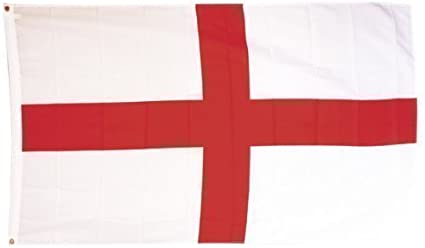 Bandera Inglaterra Grande 12.7x7.6cm o 90 x 150cm - Cruz De San Jorge Bandera: Amazon.es: Hogar