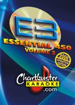 Chartbuster Essential 450 Collection Vol. 3 - 450 MP3G's on SD Card