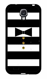 Bow Tie and Gold Buttons Plastic Phone Case Back Cover Samsung Galaxy S4 I9500