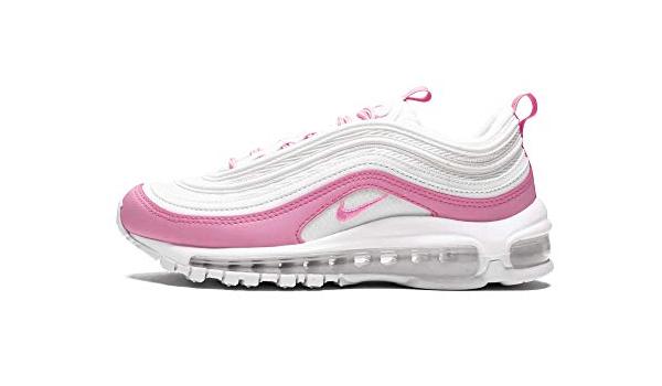 air max 97 rosa y blanca