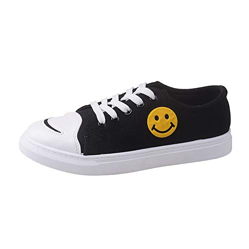 Color Shoes Heel Women Skate Round Canvas Stivali Zoccoli Nero Flat Alti Yesmile E Donna Solid Sabot Shoes Toe qxFP0wF