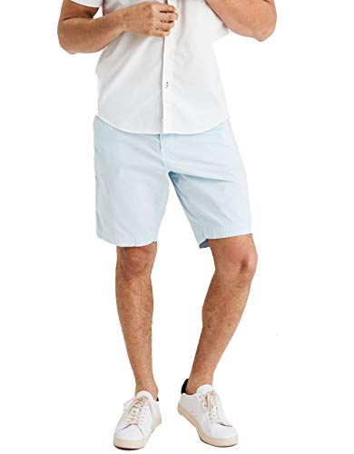 - American Eagle Mens Extreme Flex Classic Khaki Light Blue Short (38)