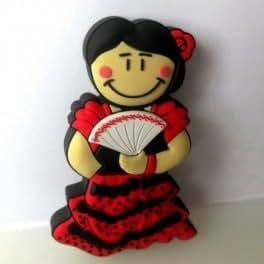 Sevillana flamenca andaluza Memoria USB Flash Drive 8 GB