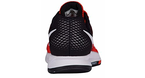 Nike pure Zoom Team black White Orange da Air Uomo Scarpe Platnum Ginnastica 33 Pegasus rr7BqFw