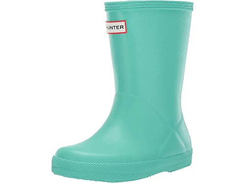 (Hunter Kids Unisex Original Kids' First Classic Rain Boot (Toddler/Little Kid) Ocean Swell 8 M US Toddler)
