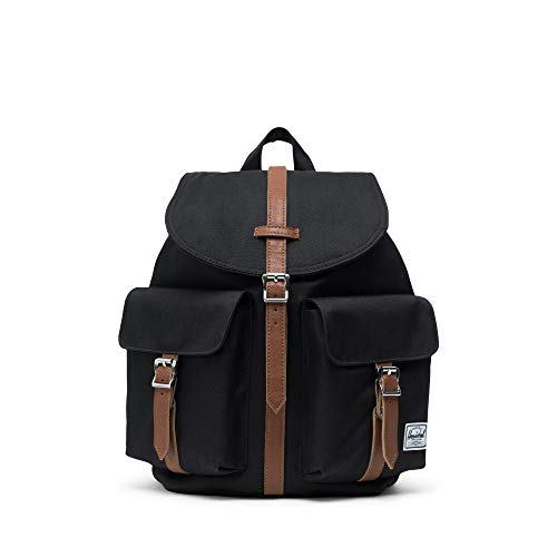 Herschel Dawson Womens' Backpack-Black/Tan Synthentic