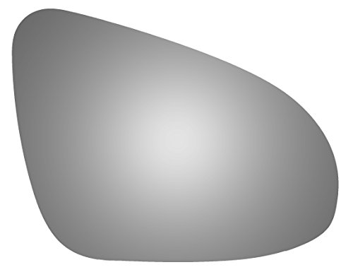 Burco 5513 Convex Passenger Side Replacement Mirror Glass for 12-16 Toyota Prius C (2012, 2013, 2014, 2015, 2016) (Glasses 5513)