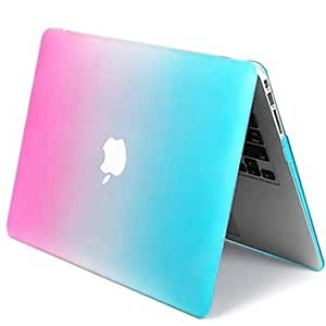 """DUR Graduated Colors Crystal Hard Case Shell for 13.3"""" 15.4"""" New Macbook Pro with Retina Display , 13.3"""""""