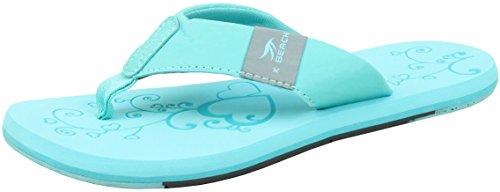 BOCKSTIEGEL Chanclas para hombres y mujeres | Varios diseños | Zapatillas de ducha | Suela antideslizante KATRIN - Turquesa - Multi