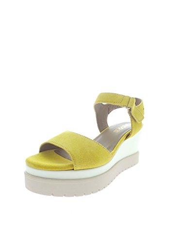 Igi&Co - Sandalias de vestir para mujer amarillo