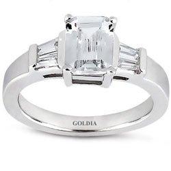 1.70 Ct Emerald Cut Diamond - 1