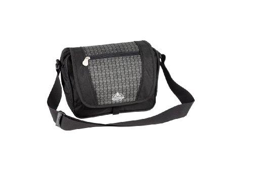 Vaude Atlanta City/Office Bag  (Black/Grey Print, 6 L), Outdoor Stuffs