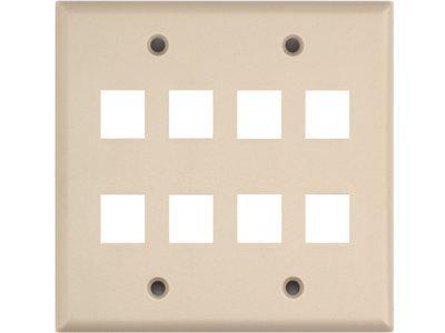 Networx Keystone Wall Plates (8 PORT, ()