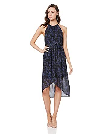 Cooper St Women's Endless Love High Neck Drape Dress, Print, 10