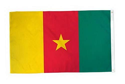 Kaputar Cameroon Flag 2X3ft Poly | Model FLG - 7029