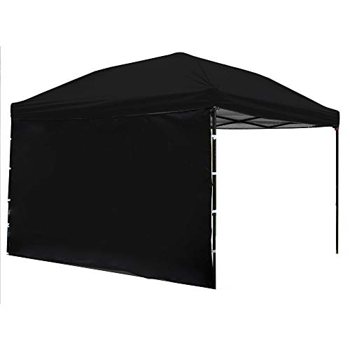 Punchau Pop Up Canopy Tent with Sidewall 10 x 10 Feet - UV Coated, Waterproof Instant Outdoor Party Gazebo Tent ()