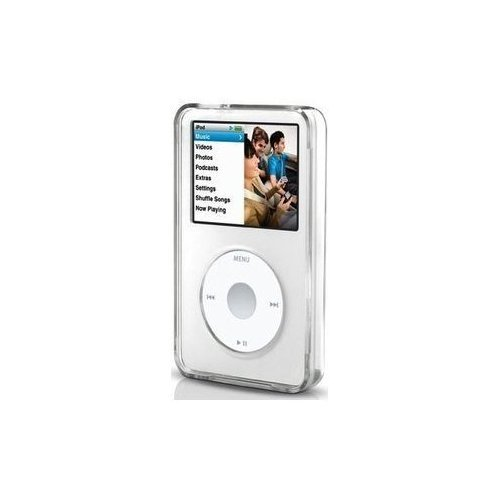 Accessory for iPod Video Classic 30 80 120 160 GB Clear Transparent Hard - 30gb Video Apple Ipod Accessory