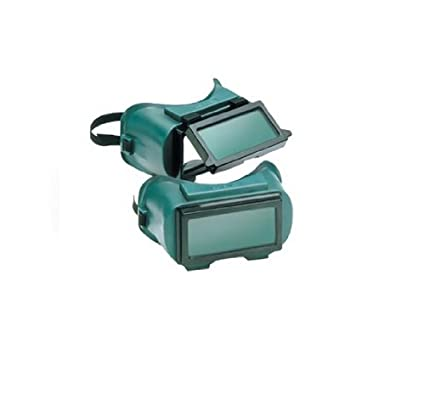 Gateway Safety 1710U50 Traditional Lift Front Welding Goggle, IR Filter Shade 5.0 Lens, Soft Vinyl Frame Inc