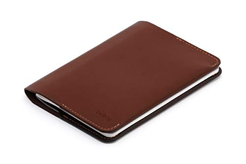 - Bellroy Leather Notebook Cover Mini Cocoa