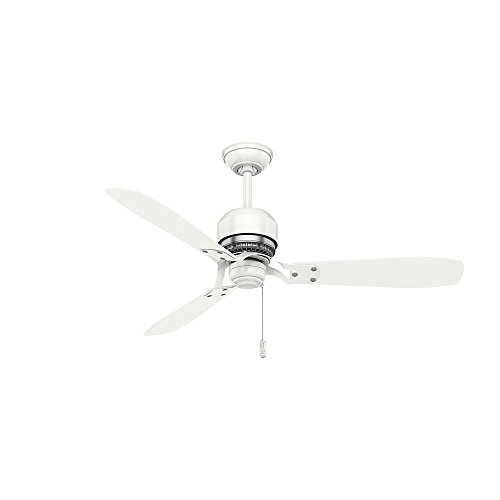 Casablanca Indoor Ceiling Fan, with pull chain control - Tribeca 52 inch, White, 59500