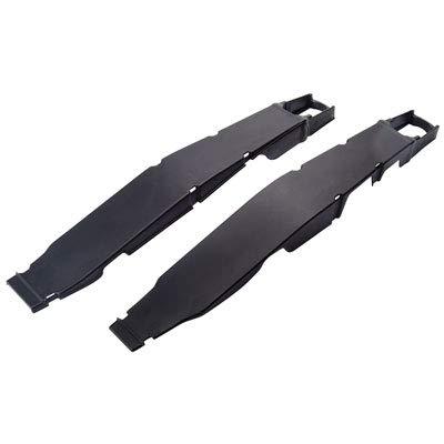 Polisport Swingarm Protectors Black for Honda CR250R 2004-2007