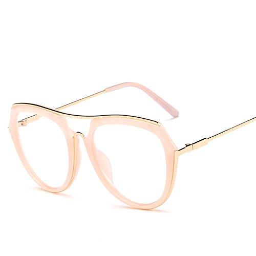 Sol Retro De Moda Sol Nuevas Gafas De Flatframeplainmirror Recubrimiento Tendencias De Trendy Sunglasses WNLSG De Gafas Color Moda Gafas Retro Gafas Gold Hipster Mujeres YqfF8w