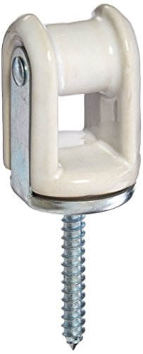 (Morris 21896 Heavy Duty Reinforced Wire Holder, Porcelain, 3/8