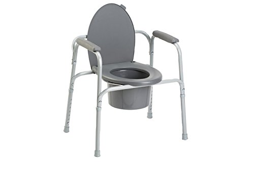 INV96504 - All-In-One Aluminum Commode