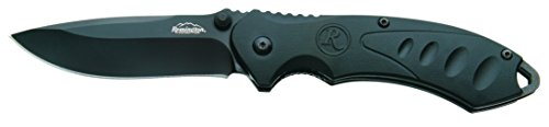 Remington Cutlery R11607 F.A.S.T. 2.0 Medium Folder Assisted Opener Knife with Black Oxide Blade, 4 1/4-Inch, Black