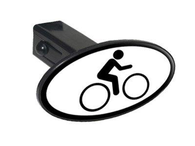 Amazon Bike Biking Cycling Sign Symbol Oval Tow Trailer Hitch