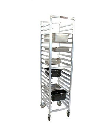 PVIFS WE5020KD-SP Knock-Down Steam Table Pan Rack, Full Size 10 Pan Capacity, 20
