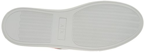 Red Lycra Exchange White Fashion Sneaker Armani Lace Deep A Exchange Men Armani Pu Blue X YzwXO
