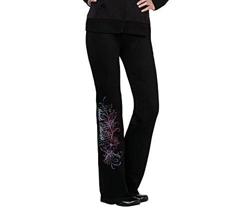Lillian Rose Bride Pants, Large, Black