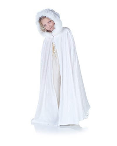 Underwraps Panne Kids Cape, White]()