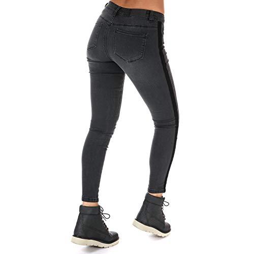 Only Skinny Vaqueros Jeans 34 31 Carmen Negro Mujer r68rqxO