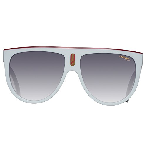 Dark SF Carrera Unisex Adulto Gafas Blanco Sol Grey 60 9O Black CCP White de FLAGTOP qFpawPgqB