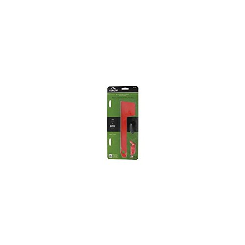 Solar Group RF000R06 Red Aluminum Mailbox Flag Kit