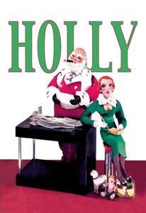 Santa Looks over Letters with Secretary Fine Art Canvas Print (20
