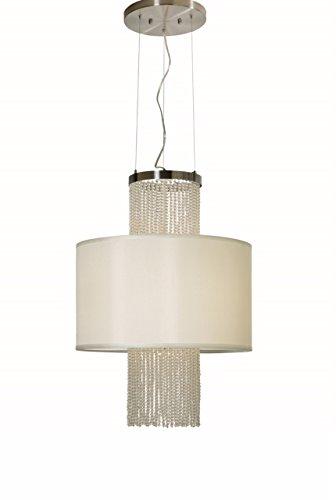 Trend Lighting TP8936 Waltz Round Chandelier (Nickel Lamp Trend Table)