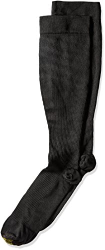 Gold Toe Men's Firm Compression OTC 1 Pack Lg, Black, 13-15