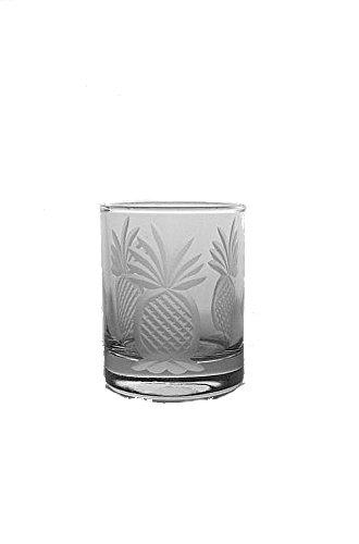 Pineapple Glass Votive Candle Holder 2.5 oz