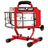 Halogen Work Light, 500 Watt, Wide Angle Surround Lens, On/Off Switch, 18/3 5' Cord, UL Listed Tools Equipment Hand Tools