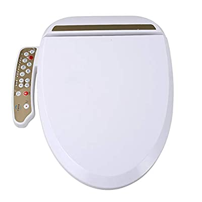 LIBINA - Intelligent Toilet seat Smart Cleaner Automatic Eco-Friendly,Water & Seat Heater,Warm Dry,Slow Closing Lid-Normal Heating Cover
