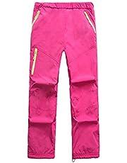 Pantalón De Esquí Pantalon Impermeable Trekking Niño Softshell Pantalones De Montaña Deporte De Senderismo Niña Pantalones De Escalada